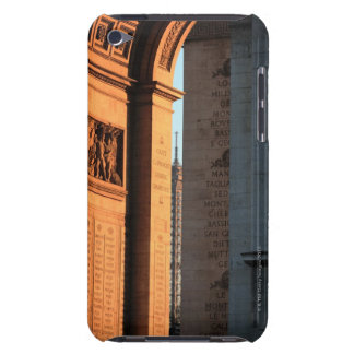 ARC DE TRIOMPHE and EIFFEL tower 2 iPod Case-Mate Case