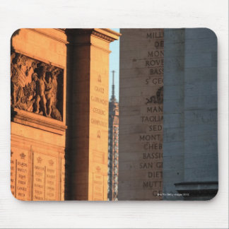 ARC DE TRIOMPHE and EIFFEL tower 2 Mouse Pad