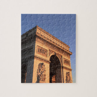 ARC DE TRIOMPHE and EIFFEL tower Jigsaw Puzzle