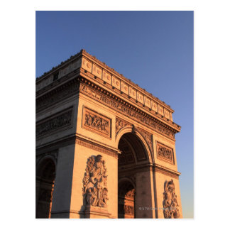 ARC DE TRIOMPHE and EIFFEL tower Postcard
