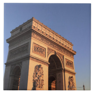ARC DE TRIOMPHE and EIFFEL tower Tile