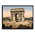 Arc de Triomphe, de l'Etoile, Paris, France classi