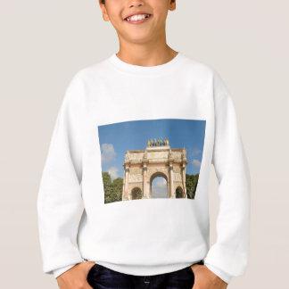 Arc de Triomphe du Carrousel in Paris, France Sweatshirt