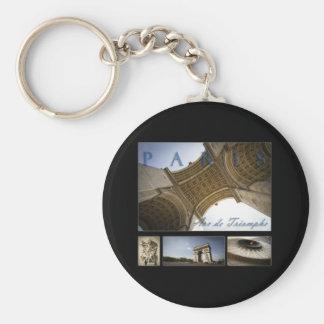 Arc de Triomphe Keychains