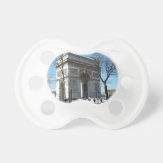 Arc de Triomphe, Paris, France Baby Pacifiers