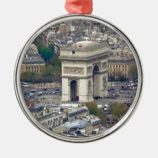 Arc de Triomphe Paris France Christmas Ornament