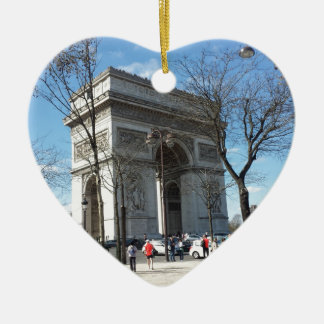 Arc de Triomphe, Paris, France Christmas Ornament