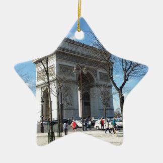 Arc de Triomphe, Paris, France Christmas Ornament