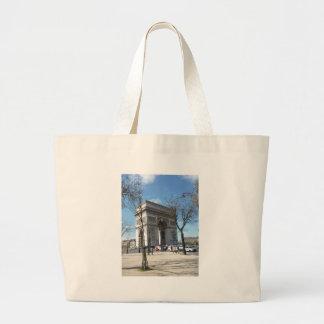 Arc de Triomphe, Paris, France Large Tote Bag