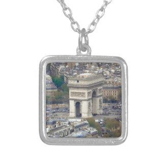 Arc de Triomphe Paris France Personalised Necklace