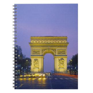 Arc de Triomphe, Paris, France, Notebooks
