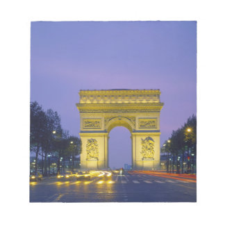 Arc de Triomphe, Paris, France, Notepad