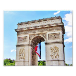 Arc de Triomphe Paris Photograph