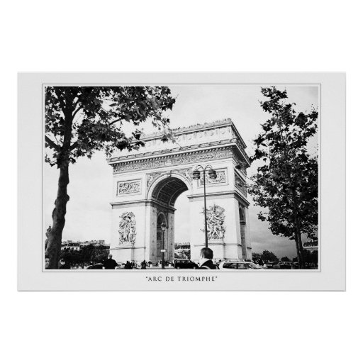 Arc de Triomphe Print
