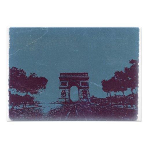 ARC DE TRIUMPH Paris Invitations