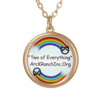 Arc K Ranch Gold Necklace