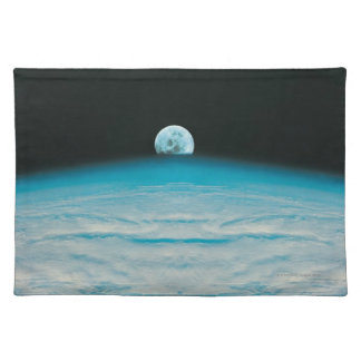 Arc of the Earth and Moon Place Mats