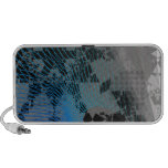Arc Wave Abstract Pattern Mp3 Speaker