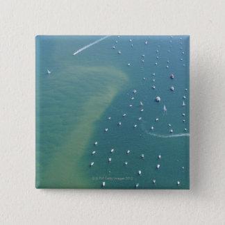 Arcachon Bassin 15 Cm Square Badge