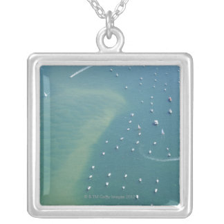 Arcachon Bassin Silver Plated Necklace