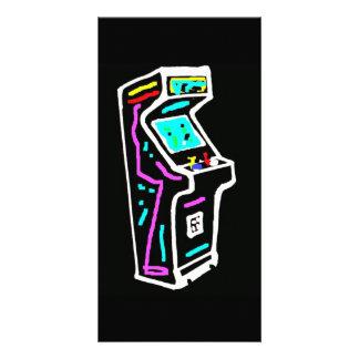 Arcade Art Card Customised Photo Card
