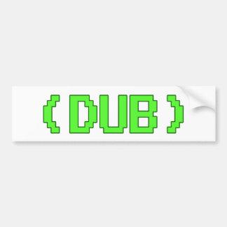 Arcade DUB shirt Bumper Sticker
