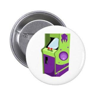 Arcade Game 6 Cm Round Badge