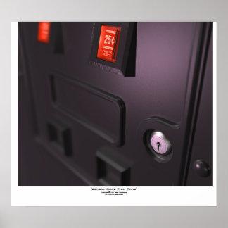 """""""Arcade Game Coin Door"""" Poster"""