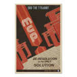 Arcade game propaganda poster- fifth in a series