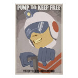 Arcade game propaganda poster- fourth in a series