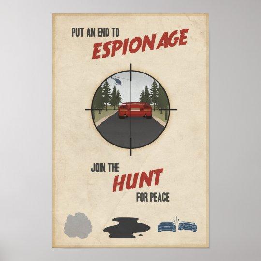 Arcade game propaganda poster- tenth in a series