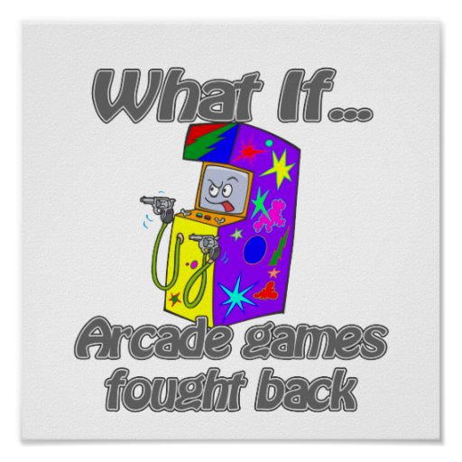 arcade games print