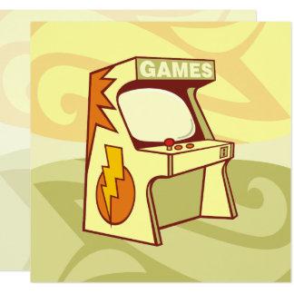 Arcade machine card