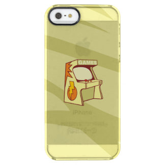 Arcade machine clear iPhone SE/5/5s case