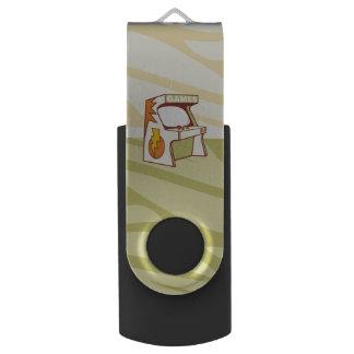 Arcade machine swivel USB 2.0 flash drive