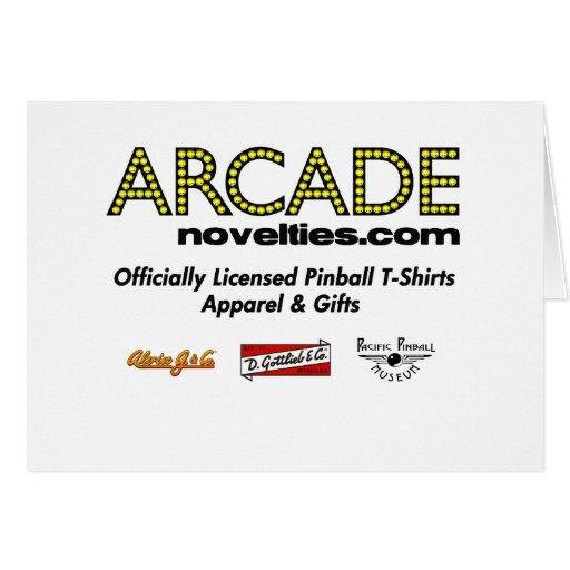 ArcadeNovelties.com Pinball Cards