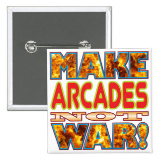 Arcades Make X 15 Cm Square Badge