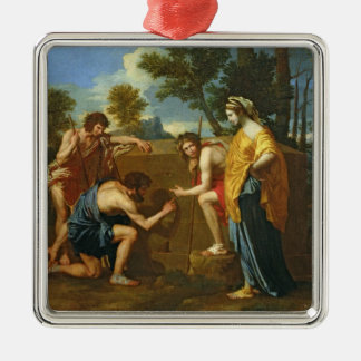 Arcadian Shepherds Christmas Ornament