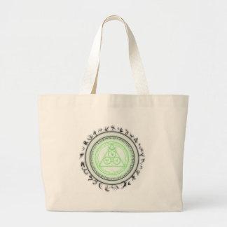 Arcane Mystic Shapes Jumbo Tote Bag