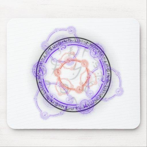 Arcane Mystic Shapes Mousepads