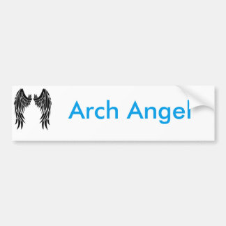 Arch Angel Bumper Sticker