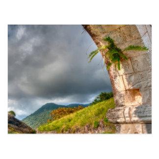 Arch at Brimstone Hill Fortress Postcard