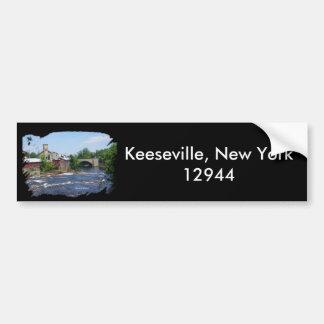 Arch Bridge, Keeseville, New York 12944 Bumper Sticker