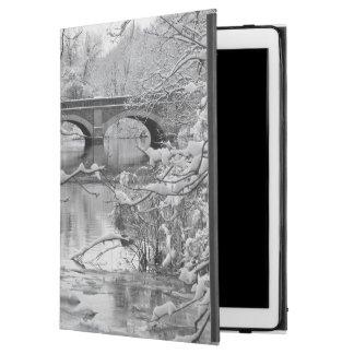 "Arch Bridge over Frozen River in Winter iPad Pro 12.9"" Case"
