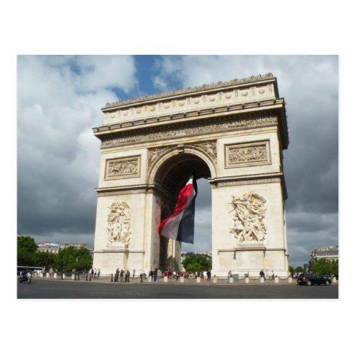 Arch de Triumph Post Cards