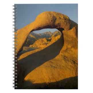 Arch in Alabama Hills Eastern Sierras near Lone Notebook