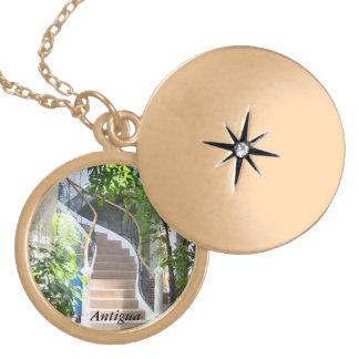Arch in Guatemala Locket Necklace