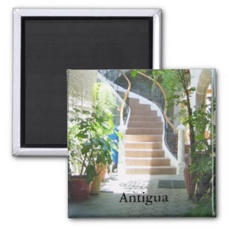 Arch in Guatemala Square Magnet