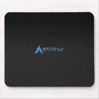 Arch Linux black Mouse Mat