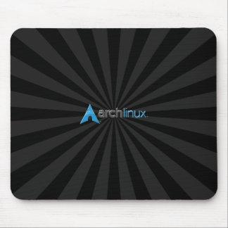 Arch Linux cool Black Starburst Mouse Mat